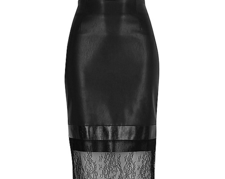 river-island-lace-black-leather-skirt
