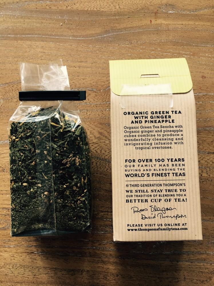 green tea thompsons